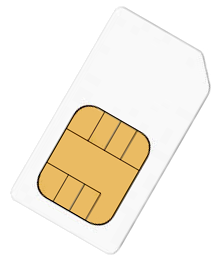 Prepaid data SIM cards for countries all over the world